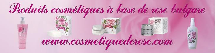 cosmétique de rose
